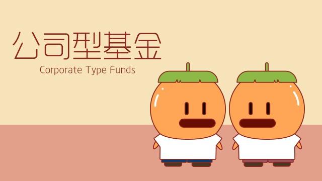 公司型基金