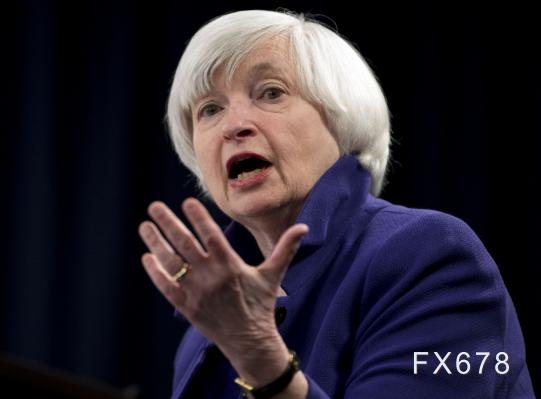 """前美聯儲主席耶倫:美國二季度經濟恐萎縮30%,但經濟""""V型""""複蘇是可能的"""