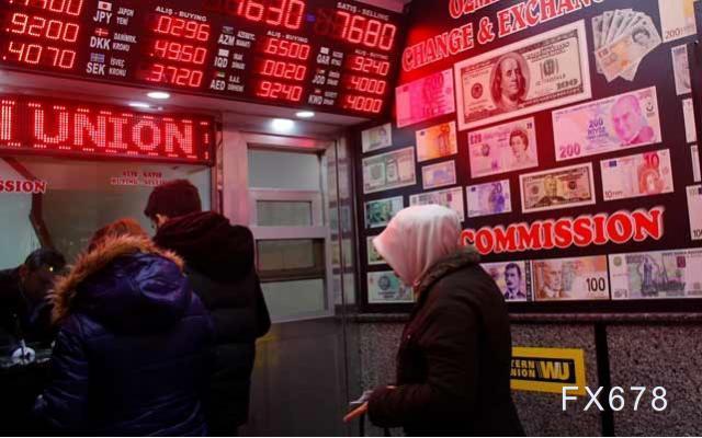 法国巴黎银行的外汇主要经纪业务暂停土耳其里拉交易