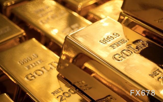 現貨黃金日內反彈,受益於國際關係趨緊;但周線可能收跌,多國釋放經濟複蘇信號