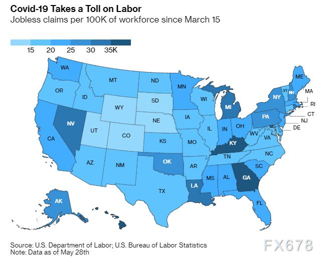 三分之一美國人尚未獲得失業救助!政策落實未到位,警惕經濟回暖或打折扣