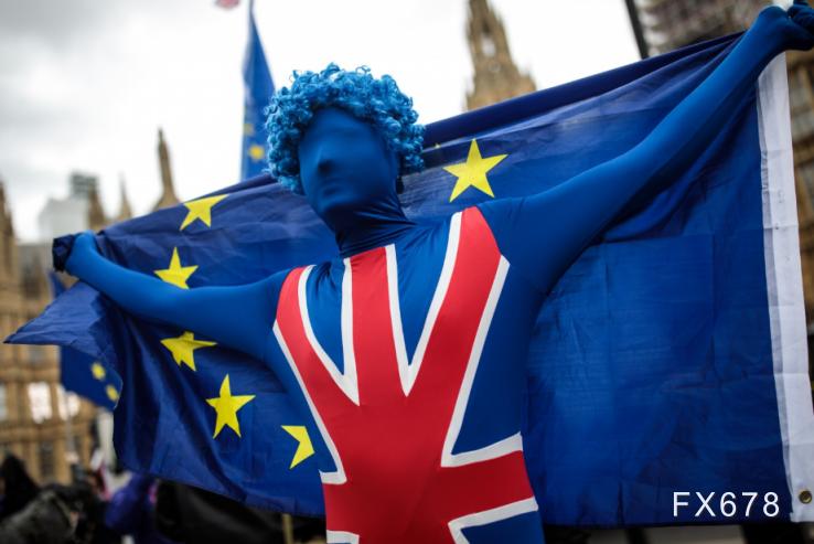 英鎊走升逾百點至一個半月新高,脫歐及美國刺激談判均現曙光,年內有望再漲400餘點