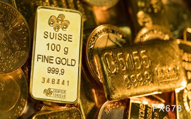 """现货黄金小幅走升,拜登版财政措施发力在即,鲍威尔""""打压""""美联储内部异见"""
