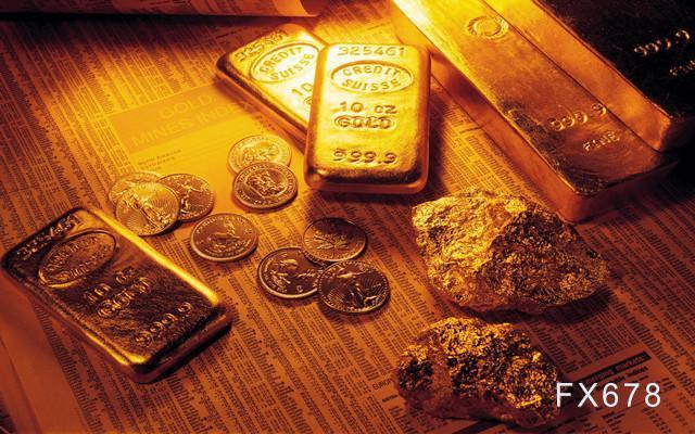 國際金價短線上看1913美元