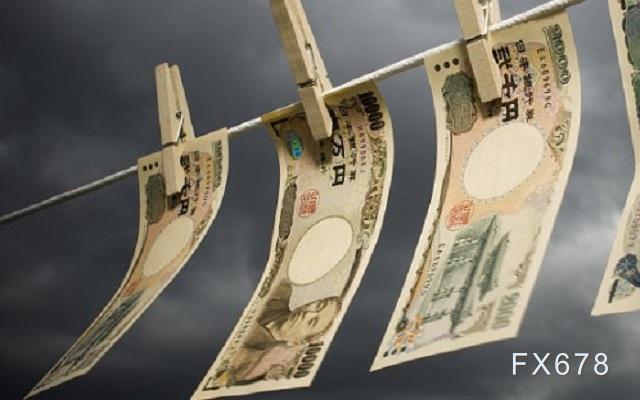 日本经济动能消退,日元短线恐继续下跌
