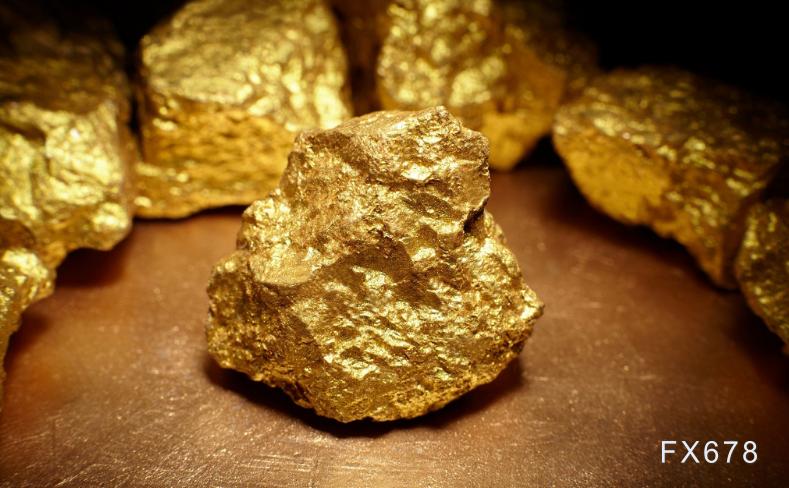 黃金價格回踩千八關口,短線恐難再現大幅反彈行情