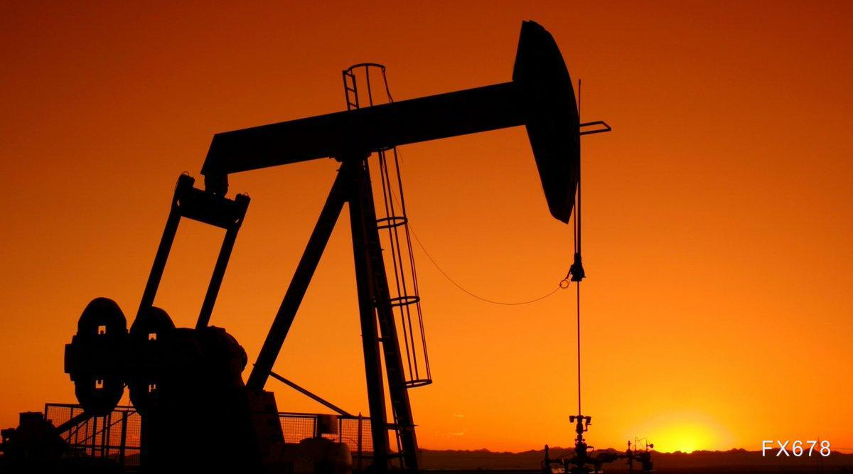 INE原油小幅下跌,受兩方面利空打壓