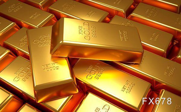 黃金交易提醒:美債收益率走強金價兩連跌,加息預期不斷升溫